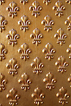 Fleur-de-lis on the wall of Hotel les Invalides. Paris. city of Paris. France