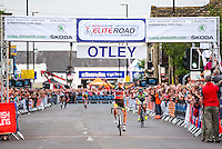 Picture by Alex Whitehead/SWpix.com - 02/07/2014 - Cycling - 2014 DM Keith Skoda Otley Cycle Races - Otley, Yorkshire, England - the Pinsent Masons Women's Grand Prix. Age Group races.