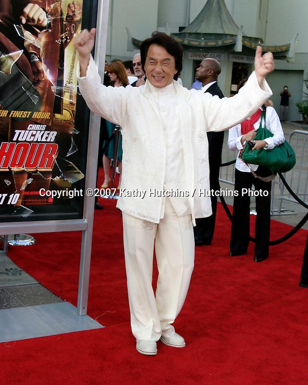 "Jackie Chan.""Rush Hour 3"" Premiere.Grauman's Chinese.Los Angeles, CA.July 30, 2007.©2007 Kathy Hutchins / Hutchins Photo...."
