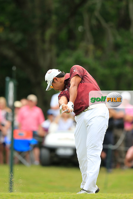 Hideki Matsuyama (JAP) during the final round of the Players, TPC Sawgrass, Championship Way, Ponte Vedra Beach, FL 32082, USA. 15/05/2016.<br /> Picture: Golffile | Fran Caffrey<br /> <br /> <br /> All photo usage must carry mandatory copyright credit (&copy; Golffile | Fran Caffrey)