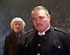 The Father <br /> by August Strindberg <br /> at Trafalgar Studios <br /> London, Great Britain <br /> press photocall <br /> 12th March 2015 <br /> <br /> <br /> Alex Ferns as Captain <br /> <br /> <br /> June Watson as Nurse <br /> <br /> <br /> <br /> <br /> Photograph by Elliott Franks <br /> Image licensed to Elliott Franks Photography Services