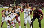 Deportes Tolima se coronó campeón de la copa Postobón 2014 ante el Independiente Santa Fe, partido desarrollado el 12 de Noviembre.