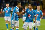 Millonarios venció como local 2-0 a Once Caldas. Fecha 16 Liga Águila II-2017.