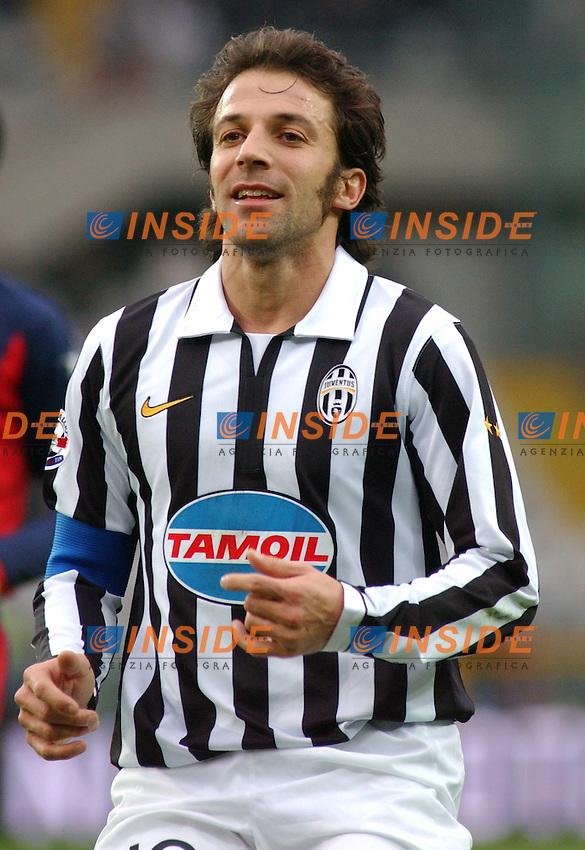 Campionato Italiano Serie B  2006-2007<br /> 17 Feb.2007<br /> Torino stadio olimpico<br /> Juventus - Crotone ( 5-0)<br /> Alessandro Del Piero ( Juventus ) in azione.<br /> <br /> Italian &quot; Serie B &quot; 2006-2007<br /> Turin Italy  Olympic stadium<br /> Juventus - Crotone ( 5-0 )<br /> Alessandro Del Piero soccer player forward in action<br /> <br /> Photo Pier Marco Tacca / Inside