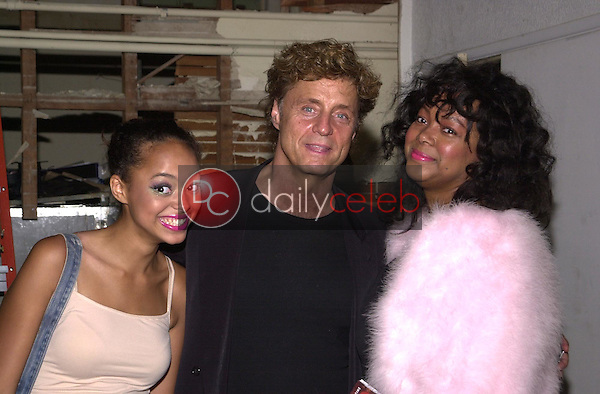 Shadoe Stevens with wife Beverly and daughter Amber