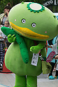Shiki city mascot character Kapal performs during the ''Local Characters Festival in Sumida 2015'' on May 30, 2015, Tokyo, Japan. The festival is held by Sumida ward, Tokyo Skytree town, the local shopping street and ''Welcome Sumida'' Tourism Office. Approximately 90 characters attended the festival. According to the organizers the event attracts more than 120,000 people every year. The event is held form May 30 to 31. (Photo by Rodrigo Reyes Marin/AFLO)