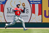 Brandon Boggs May 5th, 2010; Oklahoma CIty Redhawks vs Omaha Royals at historic Rosenblatt Stadium in Omaha Nebraska.  Photo by: William Purnell/Four Seam Images