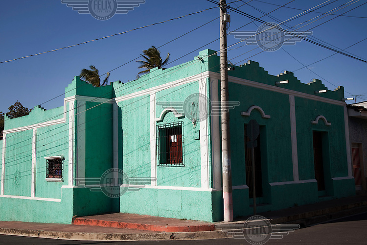 An example of architecture typical of Ahuachapan.
