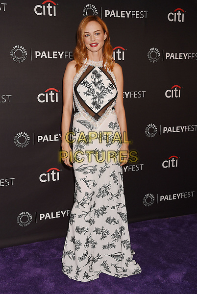 BEVERLY HILLS, CA - SEPTEMBER 11: Actress Heather Graham attends the The Paley Center For Media's 11th Annual PaleyFest Fall TV Previews Los Angeles - NBC at The Paley Center for Media on September 11, 2017 in Beverly Hills, California.<br /> CAP/ROT/TM<br /> &copy;TM/ROT/Capital Pictures