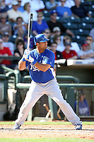 Ernesto Mejia, Kansas City Royals 2010 minor league spring training..Photo by:  Bill Mitchell/Four Seam Images.