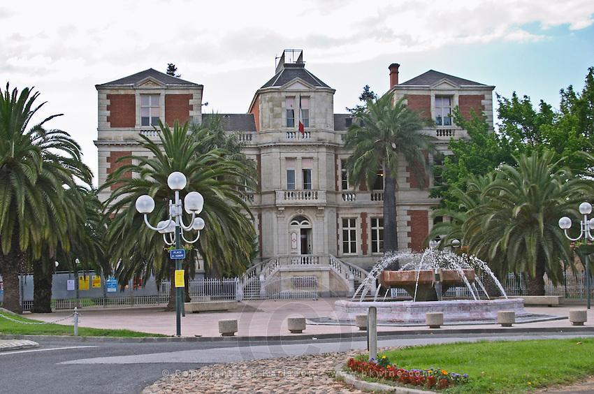 Hotel de Ville. Rivesaltes town, Roussillon, France