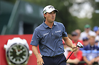Kevin Kisner (USA) on the 1st tee to start Saturday's Round 3 of the 2017 PGA Championship held at Quail Hollow Golf Club, Charlotte, North Carolina, USA. 12th August 2017.<br /> Picture: Eoin Clarke | Golffile<br /> <br /> <br /> All photos usage must carry mandatory copyright credit (&copy; Golffile | Eoin Clarke)