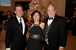 From left: David Runte with Sherri and Mike Hanley at the 27th annual Trees of Hope Holiday Gala at The Citadel on Kirby Friday Oct. 04,2016.(Dave Rossman photo)