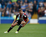 Chris Basham of Sheffield Utd during the Championship match at the Hillsborough Stadium, Sheffield. Picture date 24th September 2017. Picture credit should read: Simon Bellis/Sportimage