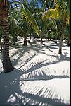 Beach on David Copperfield's Musha Cay in the Exumas, Bahamas