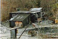 Pictured: Llechfraith Adit, Clogau St David's Gold Mine. CIRCA 1988<br /> Re: Several areas thought to contain previously-undiscovered Welsh gold have been discovered by Alba Mineral Resources, who bought a stake in Gold Mines of Wales.<br /> They now own the exploration rights to a 104 sq km area where gold veins could be located.<br /> It hopes to restart the Welsh gold mining industry after the last mine closed over 20 years ago.<br /> Incredibly rare and expensive, Welsh gold is traditionally associated with the royal family, a custom of using Welsh gold for royal wedding rings was started by the Queen Mother in 1923 and has been used by royal brides ever since.