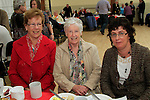 Margaret Byrne, Gean Callaghan and Sophie Gough.at the 20th Anniversary of the lifestyle development group..Picture Fran Caffrey www.newsfile.ie
