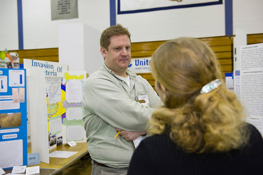 60th Annual Connecticut Science Fair, Quinnipiac University, Hamden, CT
