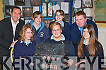 Pupils from Ballybunion Secondary school at the Kerry Diocean School project in the Dromhall Hotel Killarney on Thursday front row l-r: Lily Twomey, Mary Kennelly, Naomi Sexton. Back row: Shane Martin, Maura Doran, Sarah Larkin and Jerry Lane     Copyright Kerry's Eye 2008