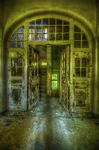 AN old lunatic asylum outside of Berlin