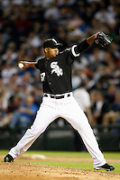 August 7, 2009:  Pitcher Tony Pena (57) of the Chicago White Sox delivers a pitch during a game vs. the Cleveland Indians at U.S. Cellular Field in Chicago, IL.  The Indians defeated the White Sox 6-2.  Photo By Mike Janes/Four Seam Images