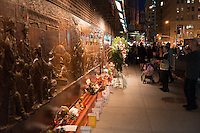 Memorial Wall of the FDNY firefighters who died in 9-11 at?ack