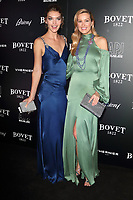 Arizona Muse and Petra Nemcova at the BOVET 1822 Brilliant is Beautiful Gala benefitting Artists for Peace and Justice's Global Education Fund for Woman and Girls at Claridge's Hotel on December 1, 2017<br /> CAP/ROS<br /> &copy;Steve Ross/Capital Pictures /MediaPunch ***NORTH AND SOUTH AMERICAS ONLY***