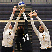 North Farmington at Clarkston, Varsity Volleyball, 10/3/13