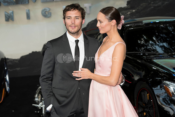 Laura Haddock and  Sam Claflin attend the Global Premiere of TRANSFORMERS: The last Knight. London, UK. 18/06/2017 | usage worldwide /MediaPunch ***FOR USA ONLY***