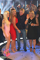 Angelique Morgan, Frenchy,Gary Busey, Lauren Goodger, Kellie Maloney at The Celebrity Big Brother final<br /> Borehamwood. 12/09/2014 Picture by: James Smith / Featureflash