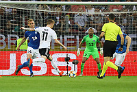 Marco Reus (Deutschland, Germany) zieht ab - 11.06.2019: Deutschland vs. Estland, OPEL Arena Mainz, EM-Qualifikation DISCLAIMER: DFB regulations prohibit any use of photographs as image sequences and/or quasi-video.