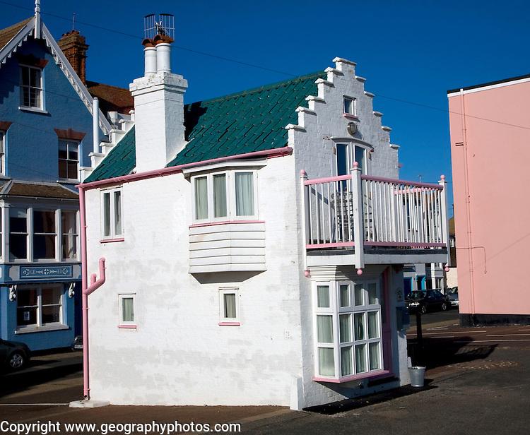 Fantasia, a miniature house on the seafront, Aldeburgh, Suffolk, England