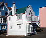 Fantasia, a miniature house on the seafront, Aldeburgh, Suffolk, England