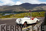 Relax<br /> --------<br /> Garrett Foley from Kilflynn in his 1949 Riley Roadster RMC taking his time driving up Moll's Gap last Saturday morning  in the 38th annual Kingdom Veteran, Vintage and Classic Car Club's Ring of Kerry weekend event last Saturday.