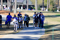 Alyaa Abdulghany (USA) on the 1st during the second round of the Augusta National Womans Amateur 2019, Champions Retreat, Augusta, Georgia, USA. 04/04/2019.<br /> Picture Fran Caffrey / Golffile.ie<br /> <br /> All photo usage must carry mandatory copyright credit (&copy; Golffile | Fran Caffrey)