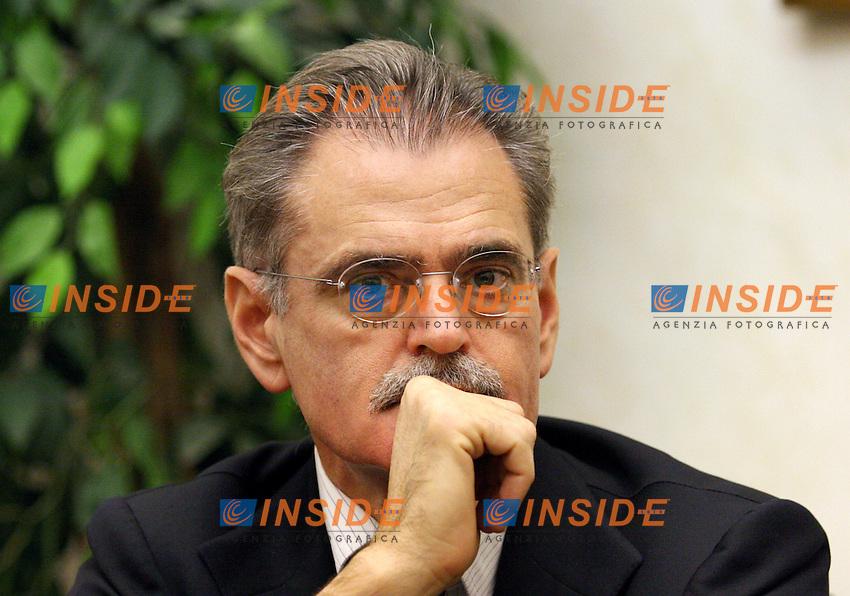 Roma 14-11-2006 :Conferenza stampa della Margherita per presentare il convegno dal titolo &quot;Patriottismo dolce&quot;.<br /> Nella foto Willer Bordon<br /> Photo Serena Cremaschi Inside (www.insidefoto.com)