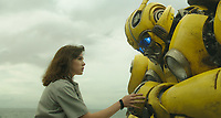 Bumblebee (2018)<br /> Hailee Steinfeld as Charlie and Bumblebee<br /> *Filmstill - Editorial Use Only*<br /> CAP/MFS<br /> Image supplied by Capital Pictures