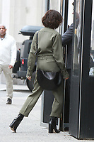 NEW YORK, NY - FEBRUARY 12: Victoria Beckham seen in New York City on February 12, 2018. <br /> CAP/MPI/RW<br /> &copy;RW/MPI/Capital Pictures