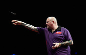 10th January 2018, Brisbane Royal International Convention Centre, Brisbane, Australia; Pro Darts Showdown Series; Andy Hamilton (GBR) in action during his match against Lewis Kirk (AUS)
