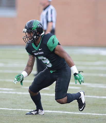 DENTON, TX - NOVEMBER 22: Mean Green Football v Florida International University at Apogee Stadium in Denton on November 22, 2014 in Denton, Texas. Photo by Rick Yeatts