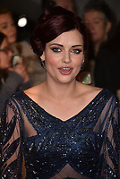 Shona McGarty attending the National Television Awards 2018 at The O2 Arena on January 23, 2018 in London, England. <br /> CAP/Phil Loftus<br /> &copy;Phil Loftus/Capital Pictures