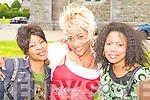 Leila (Somalia), Sifa (Congo) and Mariam (Somalia) Killarney enjoying at the Intercultural festival in St Brendan's Killarney on Sunday