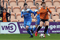 Katie Anderson of Sheffield FC Ladies and Merrick Will of London Bees during London Bees vs Sheffield FC Ladies, FA Women's Super League FA WSL2 Football at the Hive Stadium on 12th May 2018