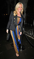 Michelle Mone, Baroness Mone at the Annabel's Chinese New Year party, Annabel's, Berkeley Square, London, England, UK, on Tuesday 05th February 2019.<br /> CAP/CAN<br /> &copy;CAN/Capital Pictures