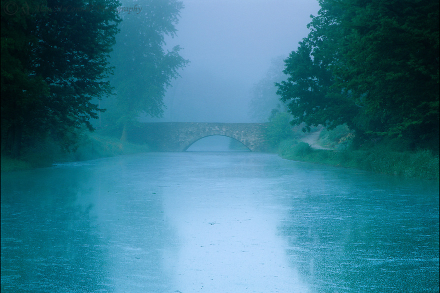 &quot;Morning Mist on the Canal&quot;<br />