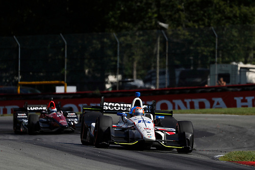 Verizon IndyCar Series<br /> Honda Indy 200 at Mid-Ohio<br /> Mid-Ohio Sports Car Course, Lexington, OH USA<br /> Sunday 30 July 2017<br /> Ed Jones, Dale Coyne Racing Honda<br /> World Copyright: Michael L. Levitt<br /> LAT Images