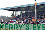 Large crowds attend the final day of the National Coursing Meeting in Clonmel on Wednesday.
