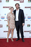 """LOS ANGELES - AUG 13:  Courtney Hope Turner, Alexander Hammond  at the """"Bennett's War"""" Los Angeles Premiere at the Warner Brothers Studios on August 13, 2019 in Burbank, CA"""