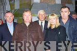 NEIGHBOURS: Paddy Moriarty, Brian O'Shea, Donie Houlihan, Lana O'Shea and Pascal Power, neighbours of the late Christy Hennessy, who were at his funeral in St John's Church, Tralee on Thursday 28th December.The Removal Mass of the late Christy Hennessy from Saint Johns Tralee on Thursday 27th December,    Copyright Kerry's Eye 2008