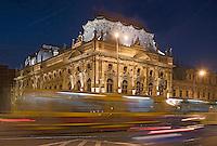 Europe/Pologne/Lodz: Le Palais d'Israël Poznanski qui contient le Musée d'Histoire de la Ville de Lodz -détail façade
